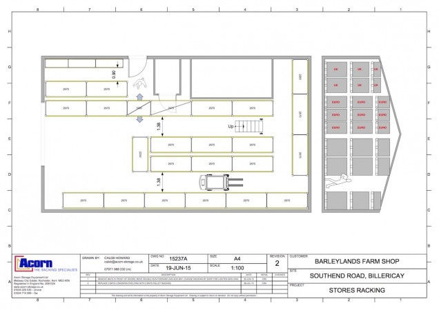 Warehouse Racking Layout