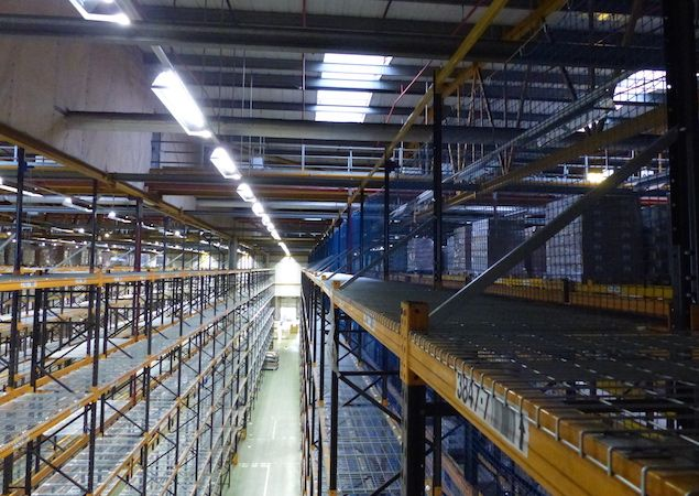 Wide Racking Ailse