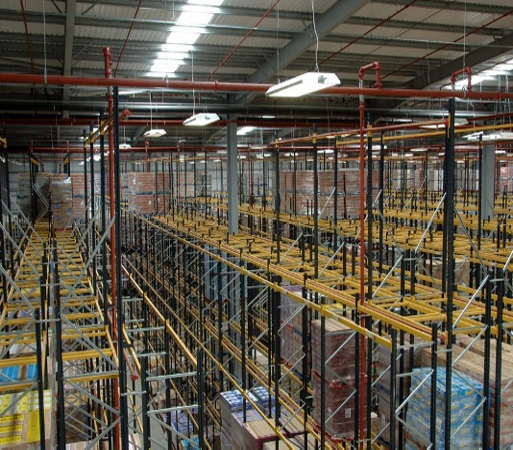 Double Deep Pallet Racking in Warehouse